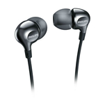 Casti in ear Philips Vibes SHE3700BK cu fir si difuzoare de 8.6mm