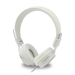 Casti handsfree on ear Qilive Q1296 albe cu mufa jack 3.5mm