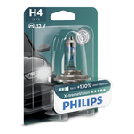 Bec far auto Philips X-treme Vision H4 12V 55W cu halogen