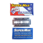 Lame de ras SuperMax Blue Diamond, set 5 bucati