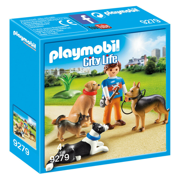 Set Playmobil City Life Pet Hotel - Dresor de caini