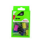 Agrafe clips Auchan, 19 mm, 6 bucati