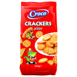 Croco Crackers cu pizza 400g