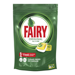 Detergent de vase capsule Fairy All in One, 60 bucati