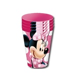 Set 4 pahare din plastic Disney 260 ml