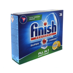 Detergent pentru masina de spalat vase Finish All in One 26 tablete