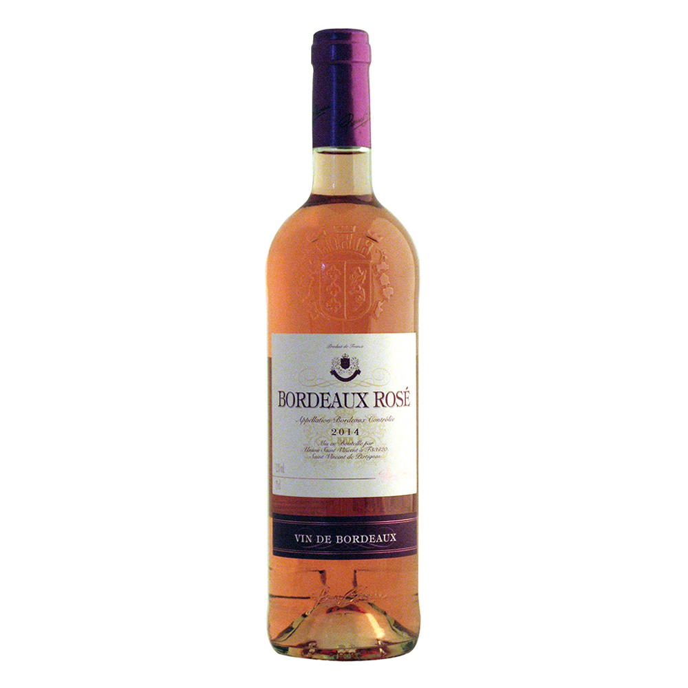 Vin Bordeaux Rose Pierre Chanau 0.75L, an 2014