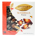 Praline Governor's Chocolates in forma de fructe de mare 250 g