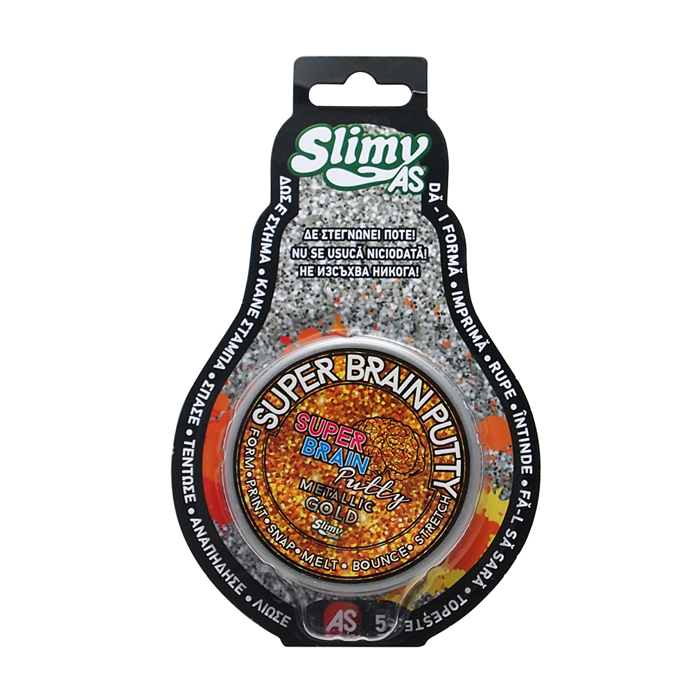 Slime Slime Super Brain Putty Joker, efect metalic
