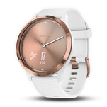 Smartwatch hibrid Garmin Vivomove HR Sport rose gold