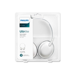 Casti Philips SHL4405WT on ear pliabile cu microfon pe fir