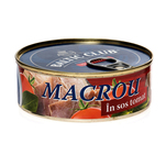 Macrou in sos de tomate Baltic Club 240 g