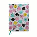 Notebook Auchan A5 200 de file, dots