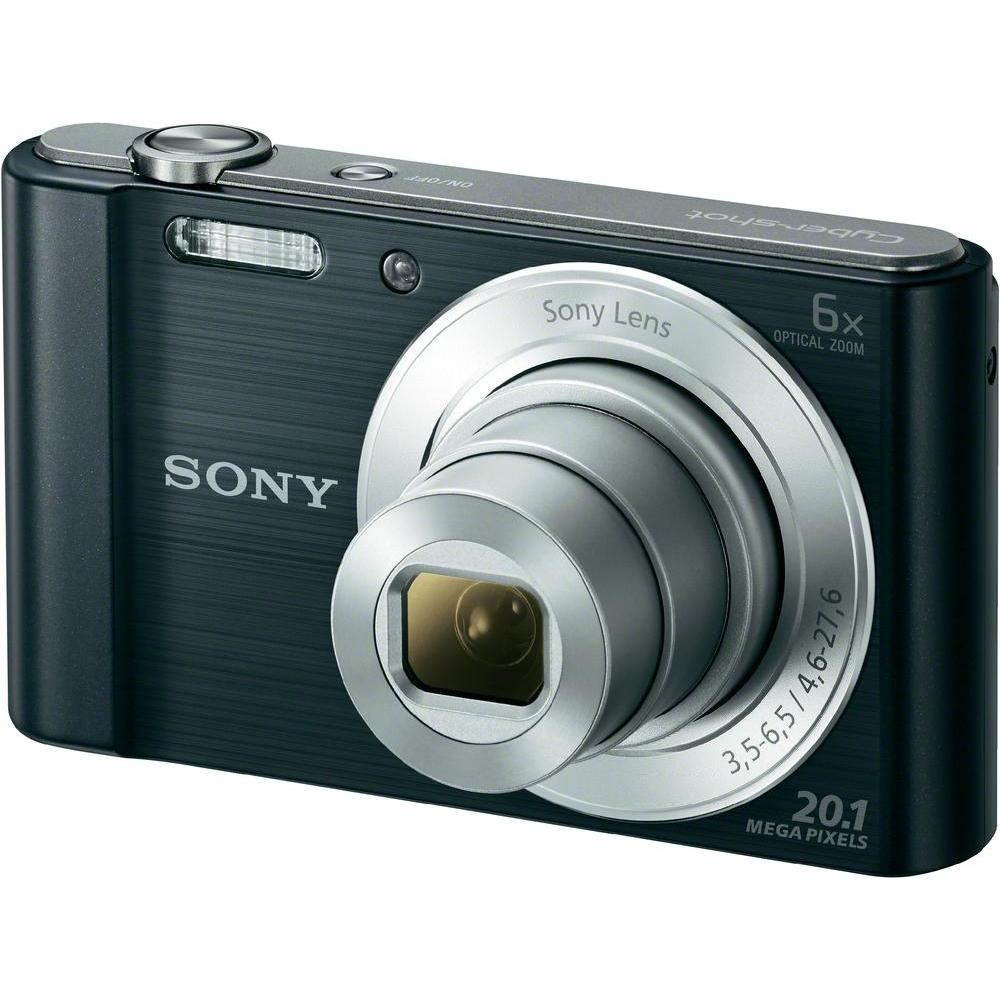 Aparat foto digital Sony Cyber-Shot DSC-W810 negru de 20MP