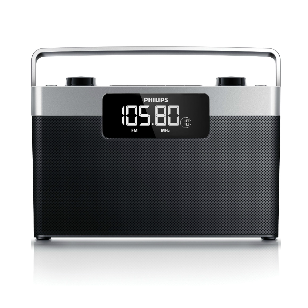 Radio FM/MW Philips AE2430/12 portabil cu display LCD
