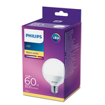 Bec glob LED Philips 60W G93 E27 WW FR ND 1CT/4