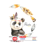Caiet Herlitz Velin Animale A5, 48 file
