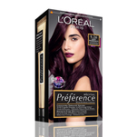 Vopsea de par permanenta L'Oreal Preference 5.26 Soft Bordeaux