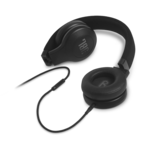 Casti JBL E35 negre on ear cu fir si microfon