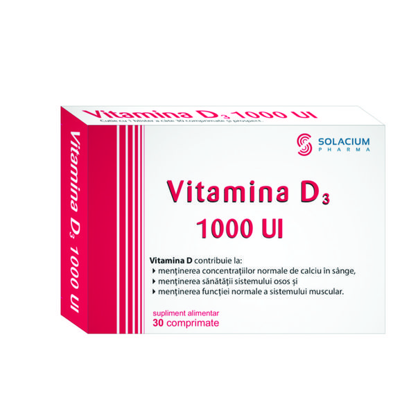 Vitamina D3 1000Ui *30 Cpr