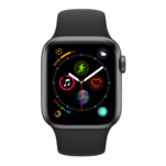 Smartwatch Apple Watch 4 sport Space Gray cu GPS, 40mm