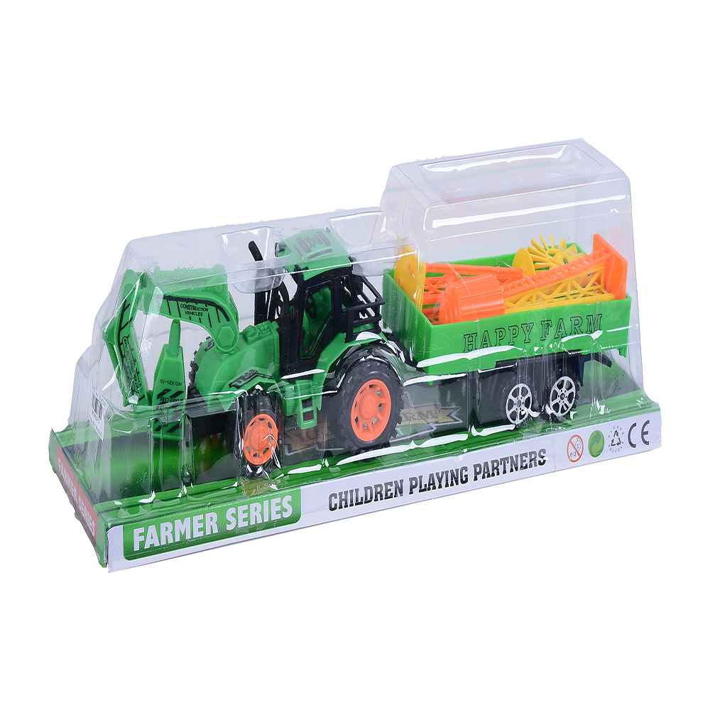 Tractor agricol cu frictiune