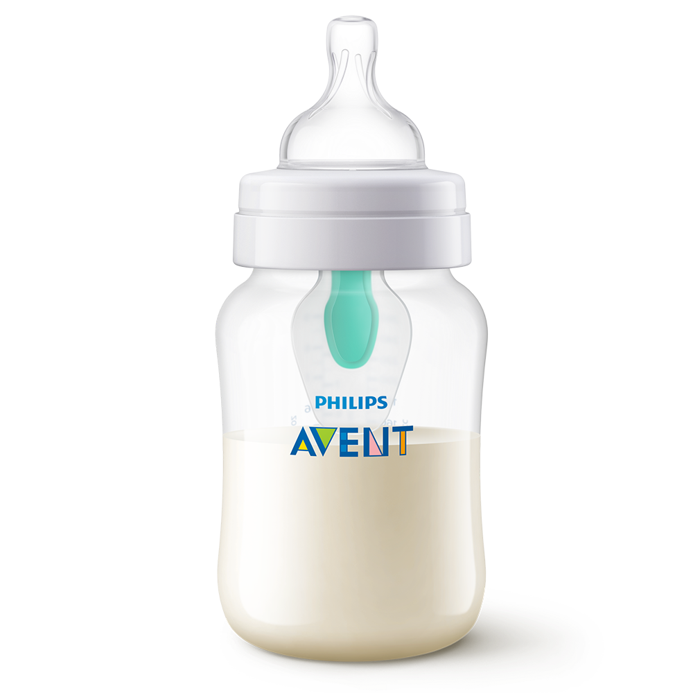 Biberon Avent dispozitiv airfree, capacitate260 ml scf813