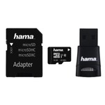 Set card de memorie microSDHC 16GB cu adaptor si cititor Hama