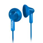 Casti Philips SHE3010 in ear albastre cu fir si difuzoare de 14.8mm