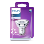 Bec LED Classic Philips 25W GU10 CW 36D ND 1BC/6