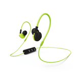 Hama Clip-On Active negru galben, casti sport bluetooth in ear cu microfon pe fir