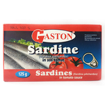 Sardine in sos tomat Gaston 125 g