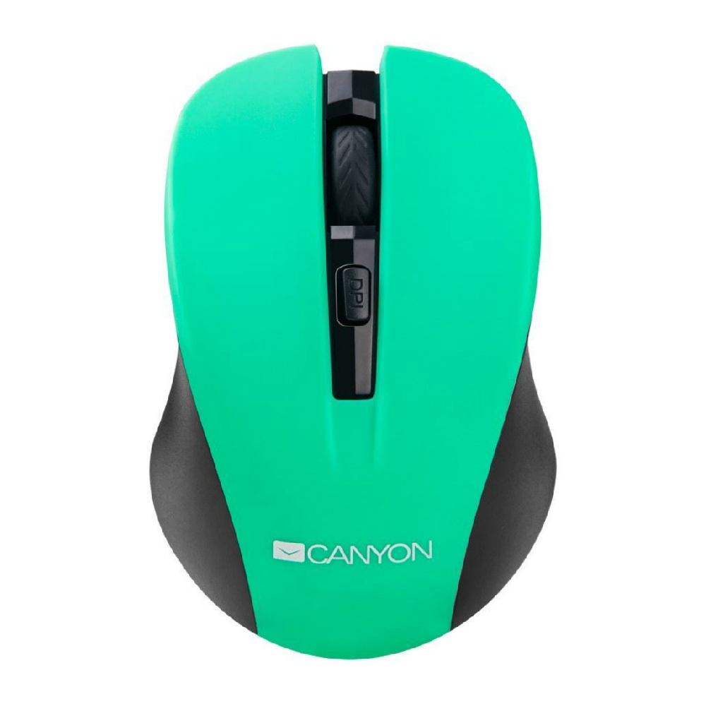 Mouse wireless Canyon CNE-CMSW1GR 1200 dpi verde
