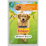 Friskies Adult cu pui si morcovi in sos, 100g