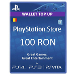 Card Sony Playstation Store credit 100RON