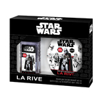 Set cadou La Rive Star Wars First Order cu deodorant si gel de dus 2 in 1