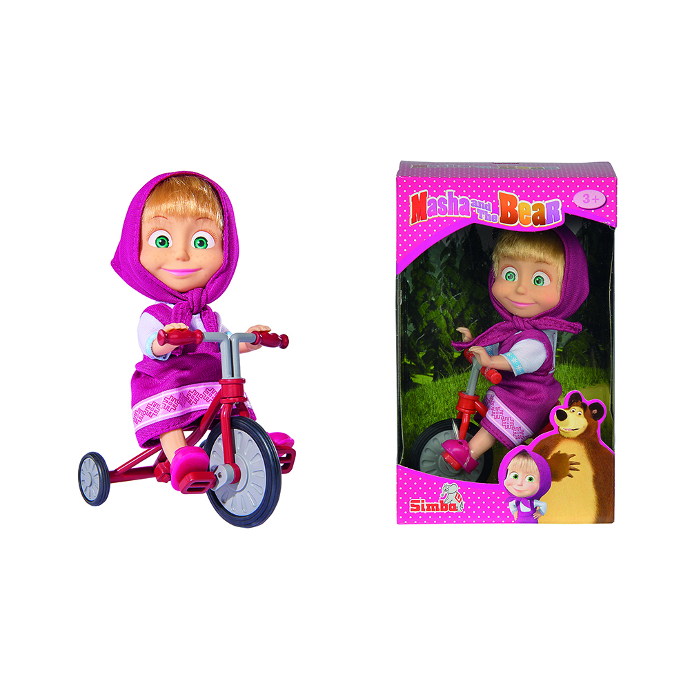 Papusa Masha and the Bear - Original Trycicle Fun