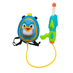 Rucsac cu pistol cu apa 4 One Two Fun, model pinguin