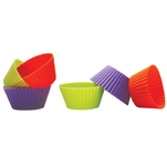 Set 6 forme din silicon pentru briose Cook Fun Fest