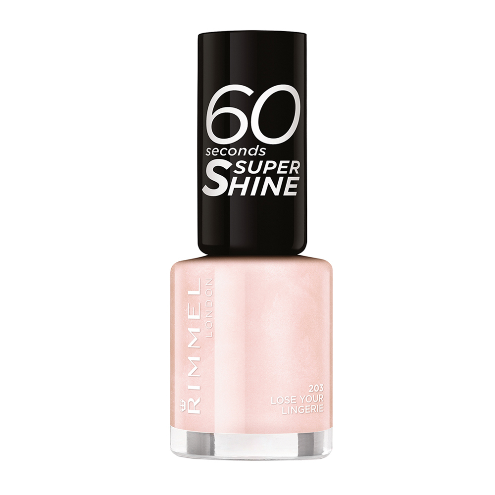 Lac de unghii Rimmel London 60 Seconds Shine, 203 Lose your Lingerie, 8 ml
