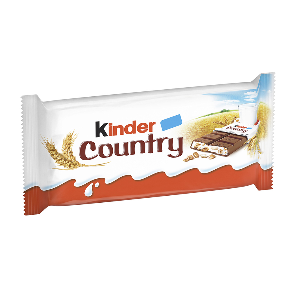 Ciocolata Kinder Country, 4 tablete, 94 g