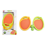 Set palete tip trambulina cu mingiute One Two Fun, 16.5 x 2 x 23 cm