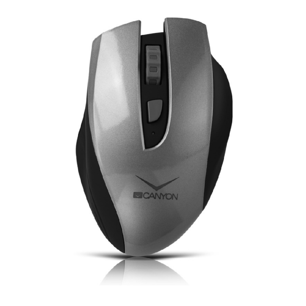 Mouse wireless Canyon CNS-CMSW7G gri cu acumulator incorporat