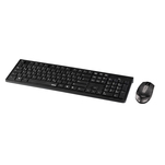 Kit tastatura si mouse wireless Hama RF2300