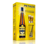 Brandy Metaxa 5* 0.7 l + 2 pahare