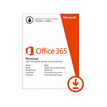 Licenta electronica ESD Microsoft Office 365 Personal 32-bit/x64 1 PC/MAC + 1 tableta/iPad 1 an