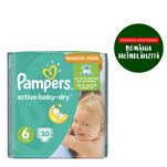 Pampers Active Baby numarul 6 xxl 30 bucati