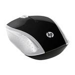 Mouse wireless HP 200, 1000 dpi, negru-argintiu