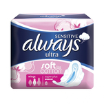 Absorbante Always Ultra Sensitive Super Plus, 8 bucati
