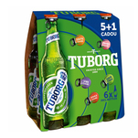 Pachet 6 sticle bere blonda Tuborg 6 x 0.33L